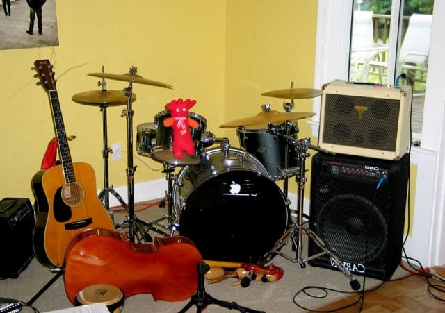 band and sound system